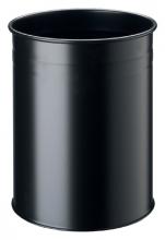 , Papierbak Durable 3304-01 15liter rond zwart