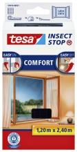 , Insectenhor Tesa 55918 voor raam 1,2x2,4m zwart