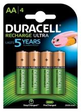 , Batterij oplaadbaar Duracell 4xAA 2500mAh Ultra