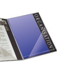 , Insteektas Tarifold driehoek 170x170mm zelfklevend PP transparant