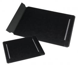 , Onderlegger Rillstab 40x60cm leder zwart