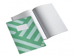 , Schrift Multo A4 80vel lijn groen