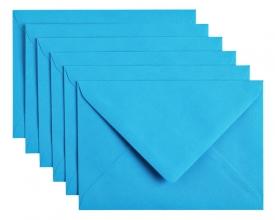 , Envelop Papicolor C6 114x162mm hemelsblauw