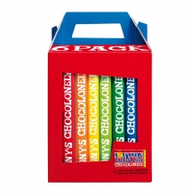 , Chocolade Tony`s Chocolonely Rainbowpack Classic 6 repen à 180gr