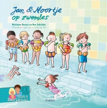 Marianne  Busser, Ron  Schröder Jan & Noortje op zwemles