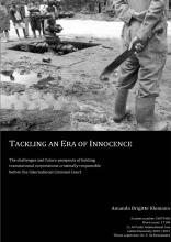 A.B. Klemann , Tackling an era of innocence