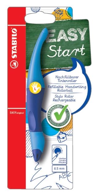 ,Rollerpen STABILO Easyoriginal linkshandig licht/donkerblauw blister