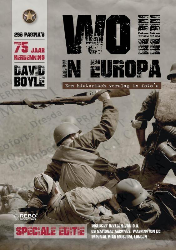 David Boyle,WO II in Europa +