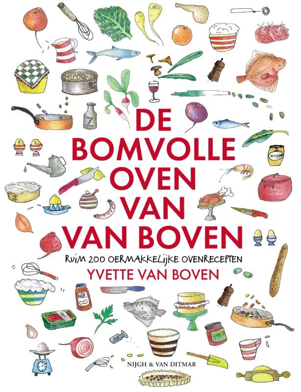 Yvette van Boven,De bomvolle oven van Van Boven