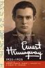 Hemingway, Ernest,The Letters of Ernest Hemingway