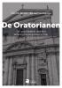 <b>Yves  Van Buyten, Bernard  Vandeginste</b>,De Oratorianen