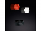 ,magneet voor glasbord mix packclassic: zwart, wit, rood                                   3 stuks 1