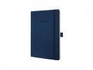,notitieboek Sigel Conceptum Pure softcover A5 blauw         gelinieerd