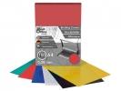 ,schutbladen ProfiOffice A4 280 micron 100 stuks rood