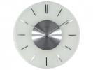 ,Wandklok NeXtime dia. 40 cm, melkglas, `Stripe` Radio       Controlled