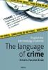 <b>Van den Eede</b>,The language of crime