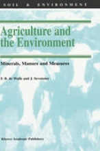 F. B. Walle,   J. Sevenster Agriculture and the Environment