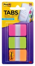 , Indextabs 3M Post-it 686 25x38mm strong assorti