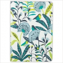 Galison Avian Tropics Handmade Embroidered Journal