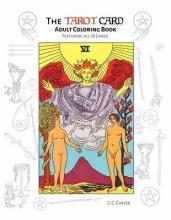 G.C. Carter Tarot Card Adult Coloring Book