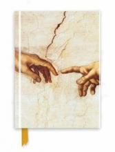 Michelangelo: Creation Hands (Foiled Journal)