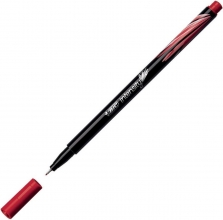 , Bic fineliner intensity rood