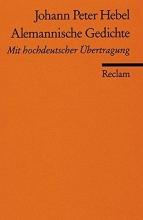 Hebel, Johann Peter Alemannische Gedichte