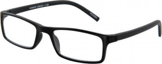 G58425 , Leesbril winner zwart g58400 2.5