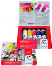 , Talens van gogh acrylverf basisset 5 tubes 40 ml