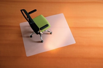 , vloermat Kangaro voor tapijt 120 x 150 cm milky voor        vloerbedekking, van PP