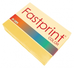 , Kopieerpapier Fastprint A4 80gr diepgeel 500vel