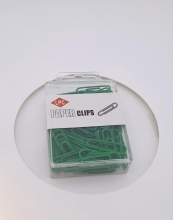 , Paperclip LPC 28mm 100stuks groen