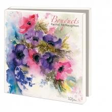 Wmc838 , Bekking notecard 10 stuks bouquets  rachel mcnaughton