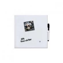 , Whitebord Desq 35x35cm magnetisch