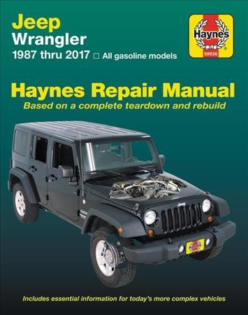Haynes Publishing,HM Jeep Wrangler 1987-2017
