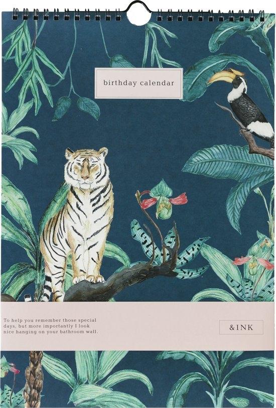 ,&INK Verjaardagskalender