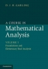 Garling, D. J. H., A Course in Mathematical Analysis