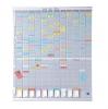 ,<b>Planbord Nobo jaar 12 panelen met 54 sleuven nr.2</b>