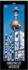 Hundertwasser Architektur 2021, Schmaler Wandkalender. Foto-Kunstkalender. PhotoArt Vertikal. 28,5 x 69 cm. Edles Foliendeckblatt.