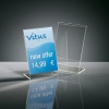 , info/prijsstandaard Sigel A7 transparant acryl doos a 10    stuks