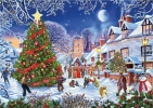 <b>Gib-G6224</b>,The Village Christmas Tree Puzzel 1000 Gibsons