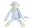 <b>Hap-130160</b>,Blue monkey mickey no 1 - knuffel - happy horse