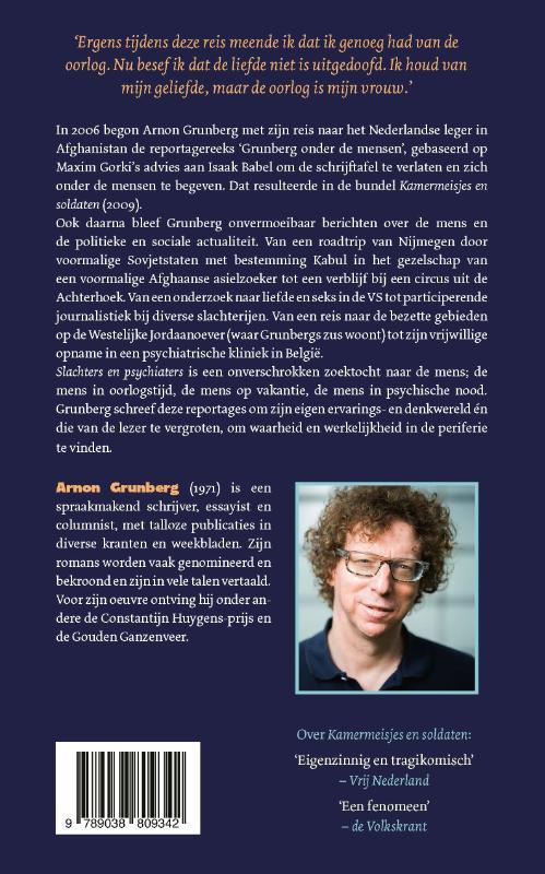 Arnon Grunberg,Slachters en psychiaters