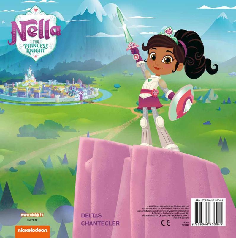 ,Color Fun Nella the Princess Knight