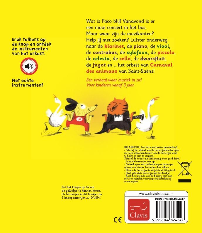 Magali Le Huche,Paco en het orkest