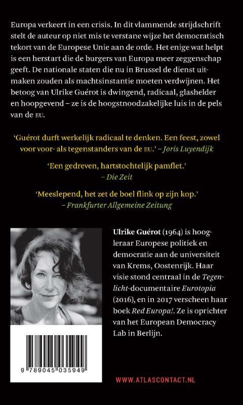 Ulrike Guérot,De nieuwe burgeroorlog