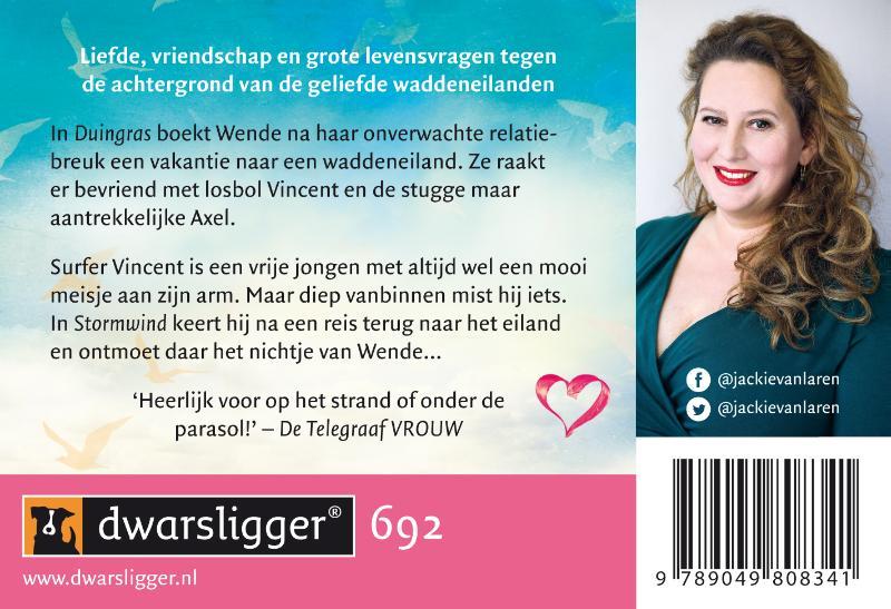 Jackie van Laren,Duingras + Stormwind