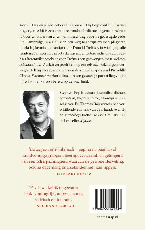 Stephen Fry,De leugenaar