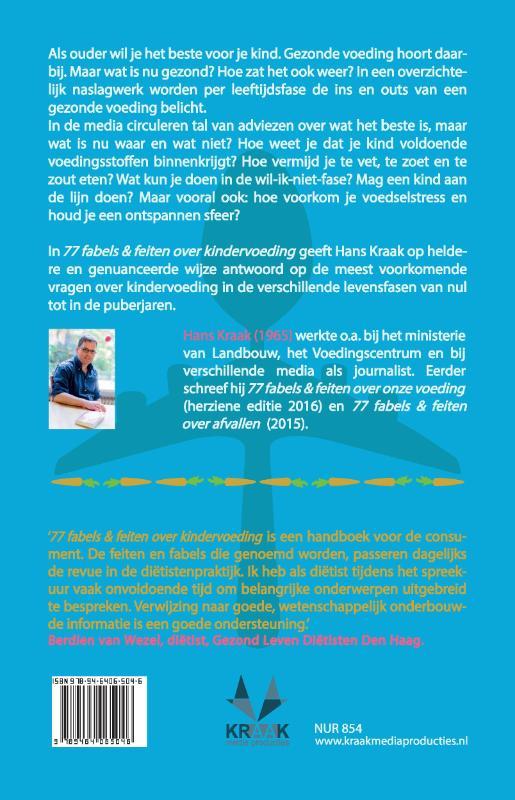 Hans Kraak,77 fabels & feiten over kindervoeding