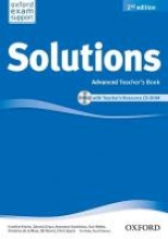 Solutions: Advanced. Teacher`s Book and CD-ROM Pack